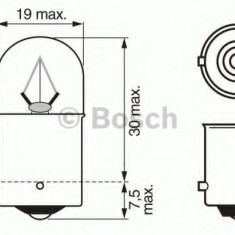 Bec incandescent - BOSCH 1 987 302 505