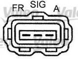 Generator / Alternator JAGUAR X-TYPE limuzina 2.2 D - VALEO 440192