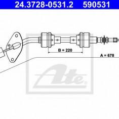 Cablu ambreiaj REINZ FIAT FIORINO 1.7 D - ATE 24.3728-0531.2