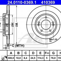 Disc frana HYUNDAI i40 CW 1.6 GDI - ATE 24.0110-0369.1 - Discuri frana REINZ