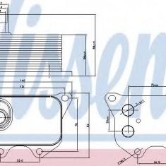 Radiator ulei, ulei motor VW PASSAT 1.8 TSI - NISSENS 90659 - Radiator auto ulei