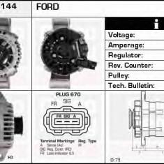 Generator / Alternator FORD MONDEO Mk III combi 2.2 TDCi - DELCO REMY DRA4144 - Alternator auto