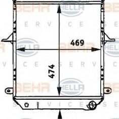 Radiator, racire motor NISSAN ATLEON 110.35, 120.35 - HELLA 8MK 376 722-121 - Radiator racire LuK