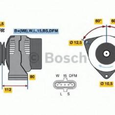 Generator / Alternator - BOSCH 0 124 655 037 - Alternator auto