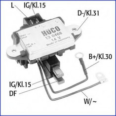 Regulator, alternator - HÜCO 130468 - Intrerupator - Regulator Auto