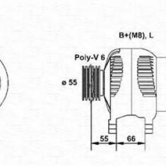 Generator / Alternator RENAULT KANGOO D 55 1.9 - MAGNETI MARELLI 943354075010 - Alternator auto