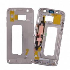 Rama carcasa mijloc Samsung Galaxy S7 G930 gold