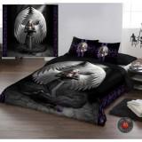 Set lenjerie de pat din bumbac Rugă pentru cei căzuți 220x230