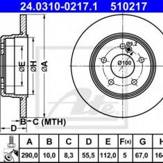 Disc frana MERCEDES-BENZ C-CLASS limuzina C 36 AMG - ATE 24.0310-0217.1 - Discuri frana REINZ