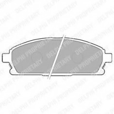 Placute frana NISSAN PATHFINDER 3.5 V6 4WD - DELPHI LP1659