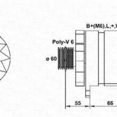 Generator / Alternator RENAULT CLIO  1.9 D - MAGNETI MARELLI 943356565010 - Alternator auto