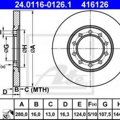 Disc frana FORD TRANSIT bus 2.2 TDCi [RWD] - ATE 24.0116-0126.1 - Discuri frana REINZ