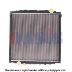 Radiator, racire motor MAN M 2000 L 12.163 LC, LLC, LRC, LLRC - AKS DASIS 260390N - Radiator racire KLOKKERHOLM