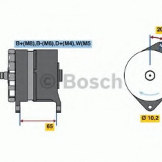 Generator / Alternator RENAULT TRUCKS Ares Ares - BOSCH 0 986 042 350 - Alternator auto