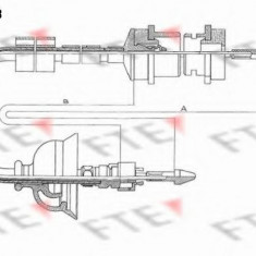 Cablu ambreiaj PEUGEOT 405  1.6 - FTE FKS18013