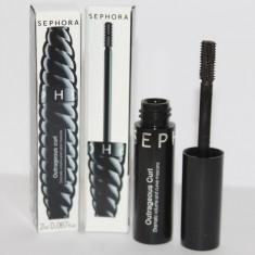 Mini Rimel Mascara Negru volum si curbare Sephora Outrageous Curl 2 ml