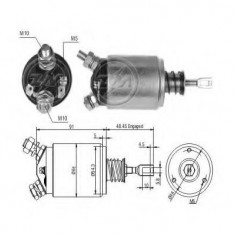 Solenoid, electromotor - ERA 227576 - Solenoid Auto
