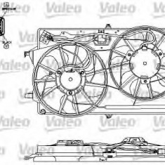 Motor electric, ventilator FORD FOCUS 2.0 16V - VALEO 696153 - Electroventilator auto
