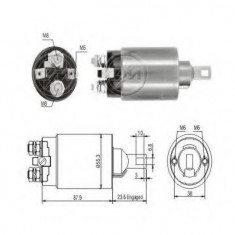 Solenoid, electromotor - ERA 227851 - Solenoid Auto