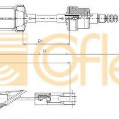 Cablu ambreiaj FIAT PUNTO 55 1.1 - COFLE 412.10