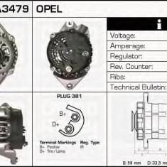 Generator / Alternator OPEL VECTRA A hatchback 2.0 - DELCO REMY DRA3479 - Alternator auto