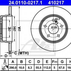 Disc frana MERCEDES-BENZ C-CLASS limuzina C 36 AMG - ATE 24.0110-0217.1 - Discuri frana REINZ