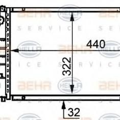 Radiator, racire motor BMW 3 limuzina 318 is - HELLA 8MK 376 717-461 - Radiator racire LuK