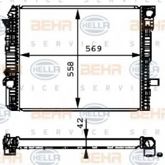 Radiator, racire motor MERCEDES-BENZ ATEGO 712 - HELLA 8MK 376 721-271 - Radiator racire LuK