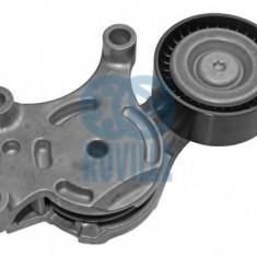 Intinzator, curea transmisie FORD C-MAX II 1.6 TDCi - RUVILLE 55963 - Intinzator curea transmisie Bosch