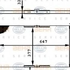 Radiator, racire motor SEAT CORDOBA 1.4 - HELLA 8MK 376 716-324 - Radiator racire LuK