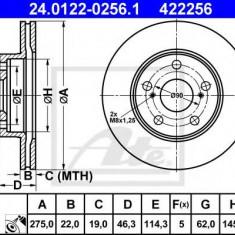 Disc frana TOYOTA BLADE 1.8 - ATE 24.0122-0256.1 - Discuri frana REINZ