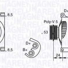Generator / Alternator LANCIA YPSILON 1.4 16V - MAGNETI MARELLI 063377013010 - Alternator auto