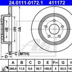 Disc frana FORD C-MAX II 1.6 Ti - ATE 24.0111-0172.1 - Discuri frana REINZ