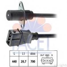 Senzor impulsuri, arbore cotit FIAT PANDA 900 - FACET 9.0022 - Senzor arbore cotit