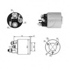 Solenoid, electromotor - ERA 227231 - Solenoid Auto