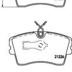 Placute frana - TEXTAR 2122501