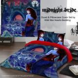 Set lenjerie de pat din bumbac gotică Mireasa nopții 220x230