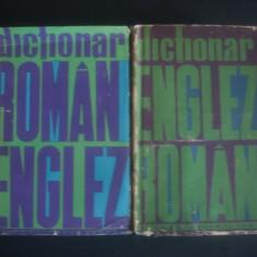 DICTIONAR ROMAN ENGLEZ SI ENGLEZ ROMAN 2 volume