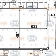 Radiator, racire motor MERCEDES-BENZ G-CLASS 230 G - HELLA 8MK 376 709-361 - Radiator racire LuK