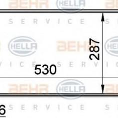 Radiator, racire motor OPEL VITA B 1.0 i 12V - HELLA 8MK 376 722-441 - Radiator racire LuK