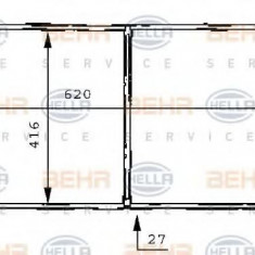 Radiator, racire motor FORD MONDEO  1.6 i 16V - HELLA 8MK 376 706-641 - Radiator racire LuK