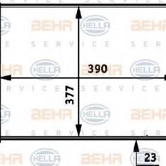 Radiator, racire motor RENAULT CLIO  1.4 - HELLA 8MK 376 717-301 - Radiator racire LuK