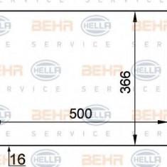 Radiator, racire motor FORD FIESTA Mk IV 1.3 i - HELLA 8MK 376 714-061 - Radiator racire LuK