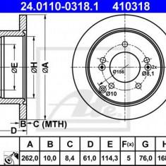 Disc frana KIA SPORTAGE 2.0 CRDi - ATE 24.0110-0318.1 - Discuri frana REINZ