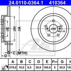Disc frana LEXUS CT 200h - ATE 24.0110-0364.1 - Discuri frana REINZ