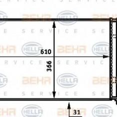 Radiator, racire motor CITROËN XSARA Estate 1.8 i Aut. - HELLA 8MK 376 717-501 - Radiator racire LuK