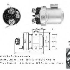 Solenoid, electromotor - ERA 227042 - Solenoid Auto