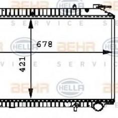 Radiator, racire motor NISSAN SERENA 2.3 D - HELLA 8MK 376 712-721 - Radiator racire LuK