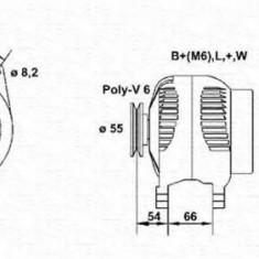 Generator / Alternator RENAULT CLIO  1.8 - MAGNETI MARELLI 943356102010 - Alternator auto