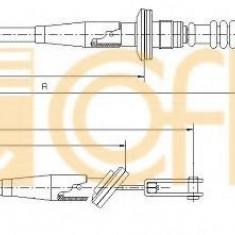 Cablu ambreiaj SUZUKI WAGON R+ 1.0 - COFLE 18.6020